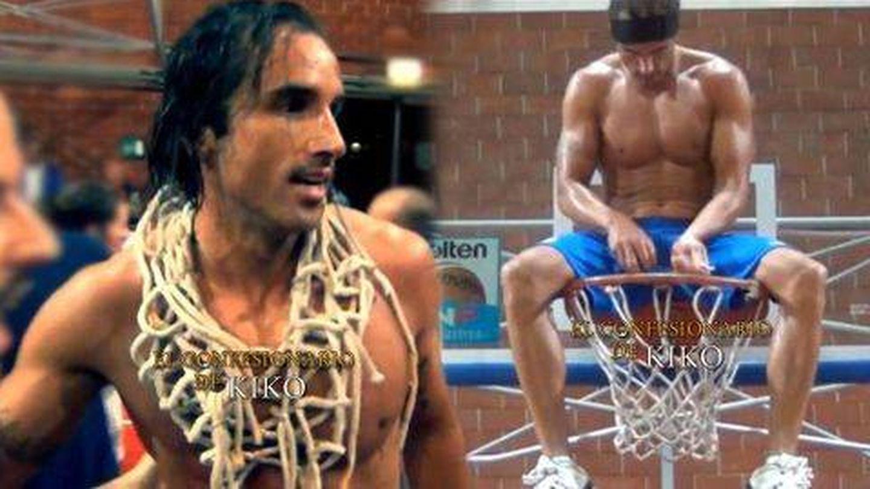Hugo Sierra, en su etapa de jugador de baloncesto. (Telecinco)
