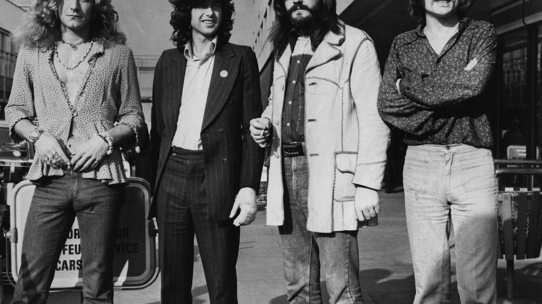 El grupo de hard rock Led Zeppelin (Getty Images).