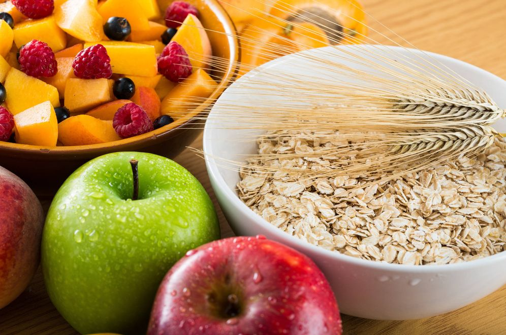 Foto: Alimentos con fibra. (Foto: iStock)