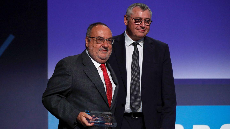 Alfredo Relaño y Michael Robinson. (EFE)