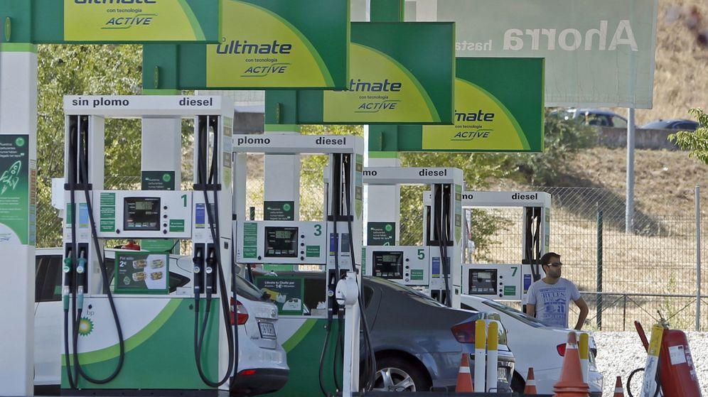Foto: Combustible precio