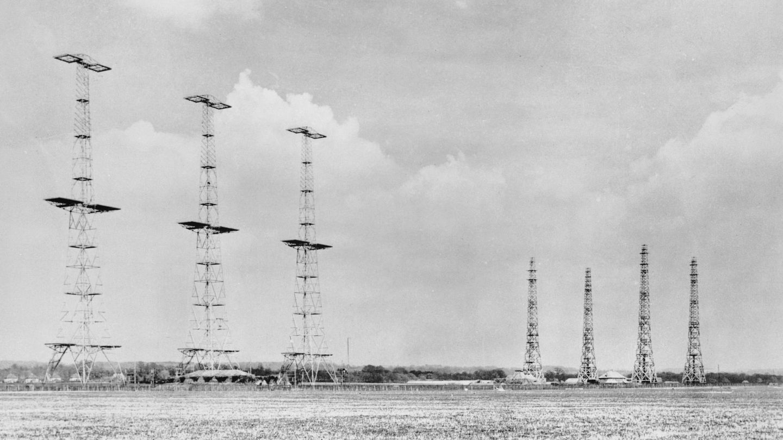 Anillo de estaciones de radar construidas por la Fuerza Aérea británica antes de la Segunda Guerra Mundial