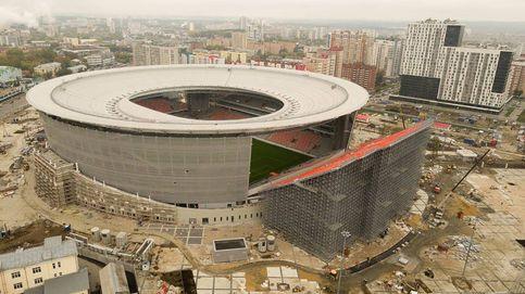 Así es el estadio más extraño del Mundial de Rusia: con la grada fuera del campo