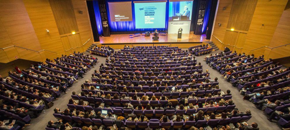Foto: Vista general del Congreso Nacional de Recursos Humanos, organizado por la Asociación para el Progreso de la Dirección. (Eva Máñez)