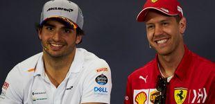 Post de El ninguneo de Ferrari a Vettel que confirma que Carlos Sainz era la primera opción