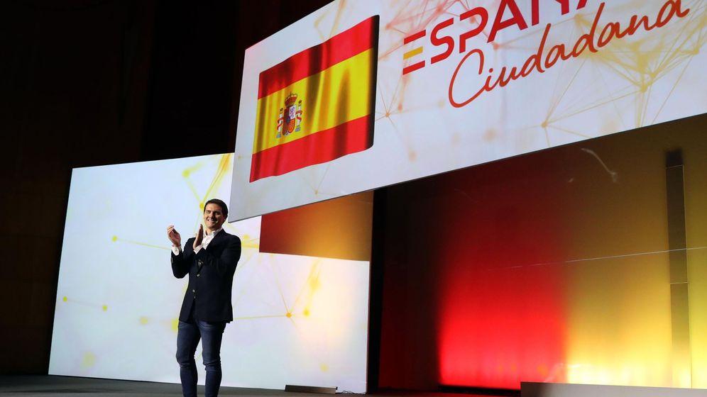 Foto: El líder de Ciudadanos, Albert Rivera, durante la presentación de la plataforma España Ciudadana. (EFE)