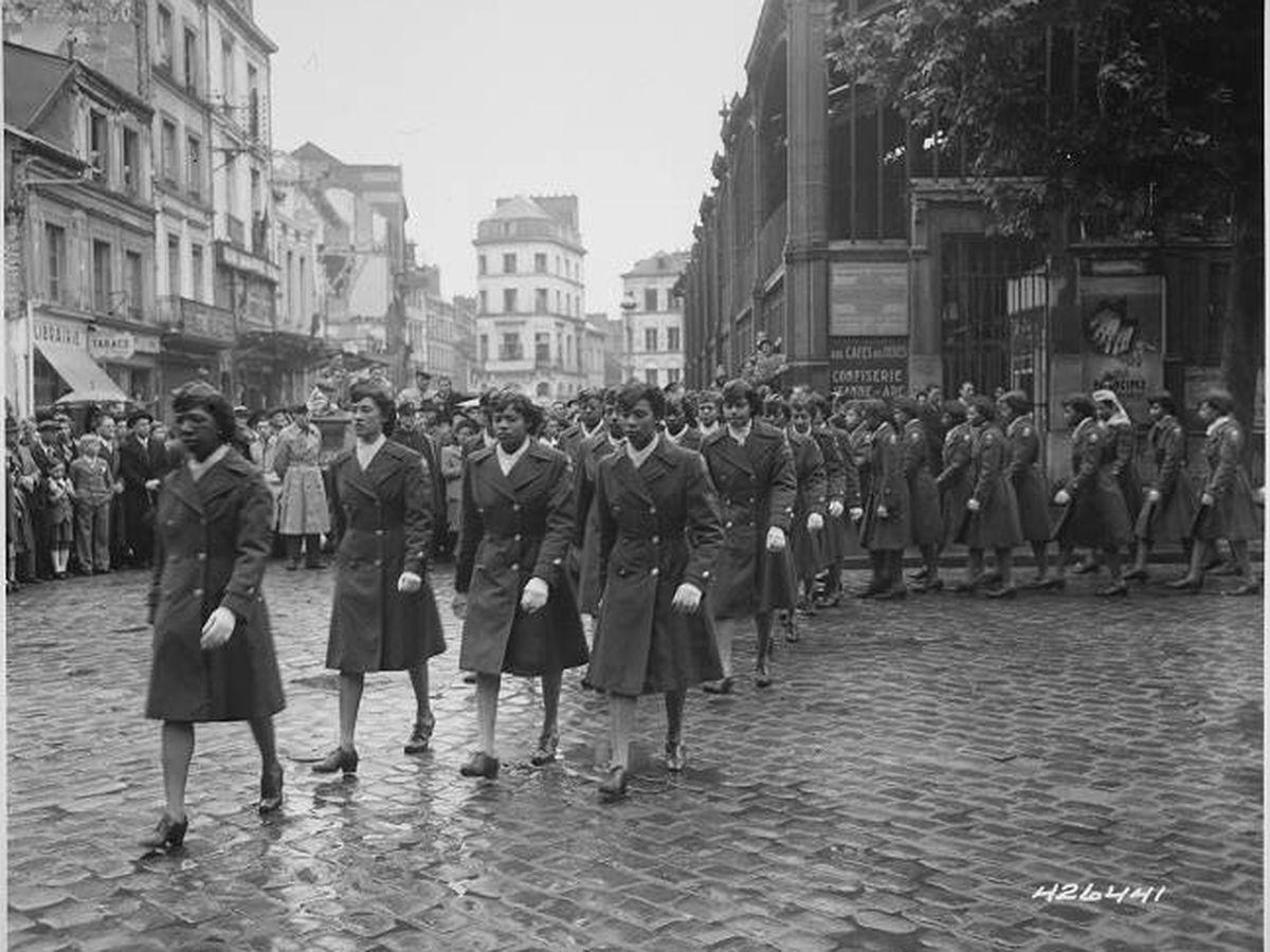 Foto: El batallón Six Triple Eight. (Foto promocional del documental 'The Six Triple Eight')