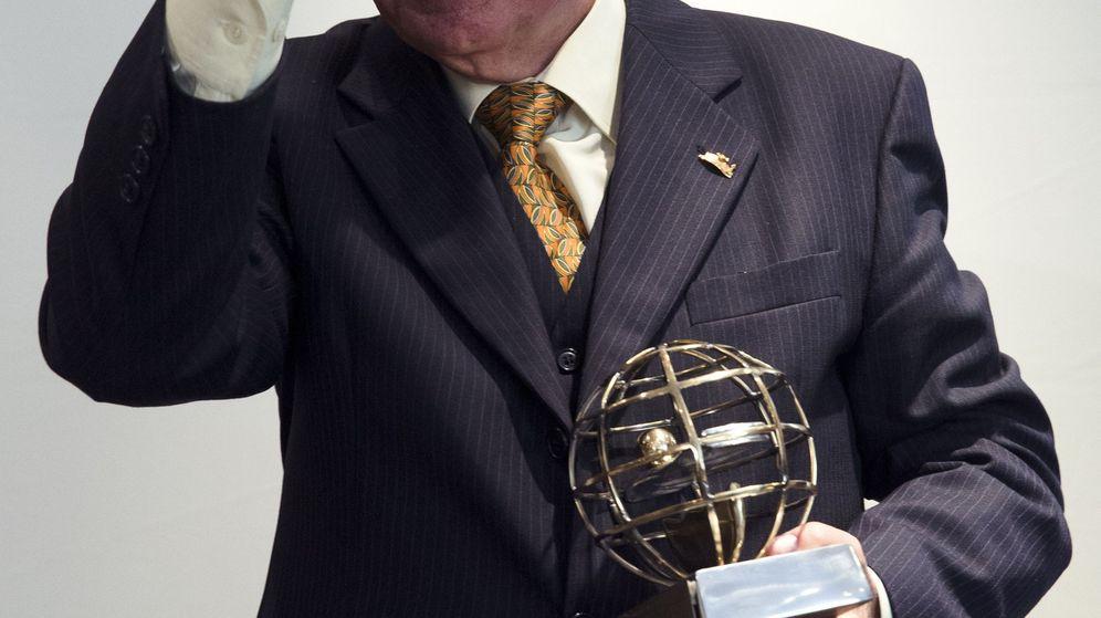 Foto: Chiquito de la calzada recibe premio de los Hoteleros de la Costa del Sol en 2016. (EFE)