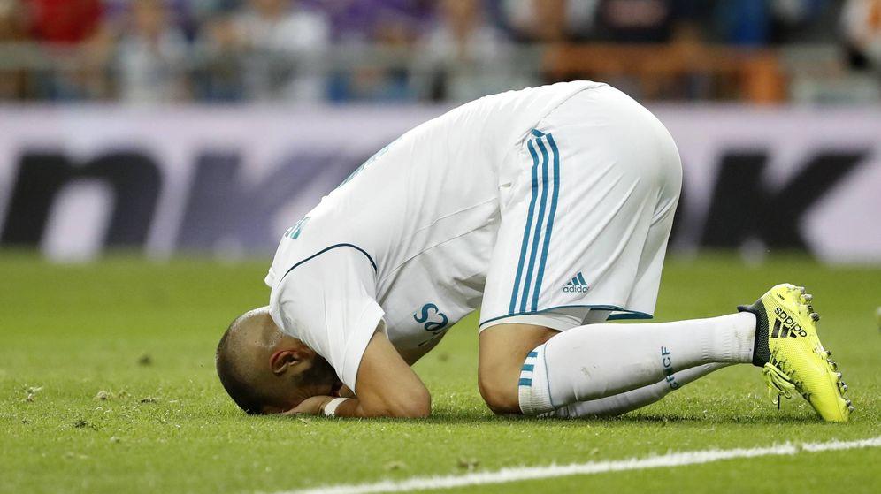 Foto: Benzema nunca ha entusiasmado al madridismo. (Imago)