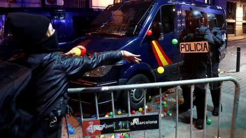 La nueva jornada de protestas en Barcelona, en imágenes
