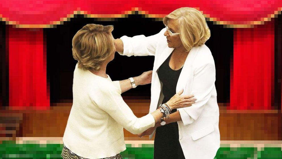 La guerra costumbrista entre Aguirre y Carmena ya tiene hasta presos políticos