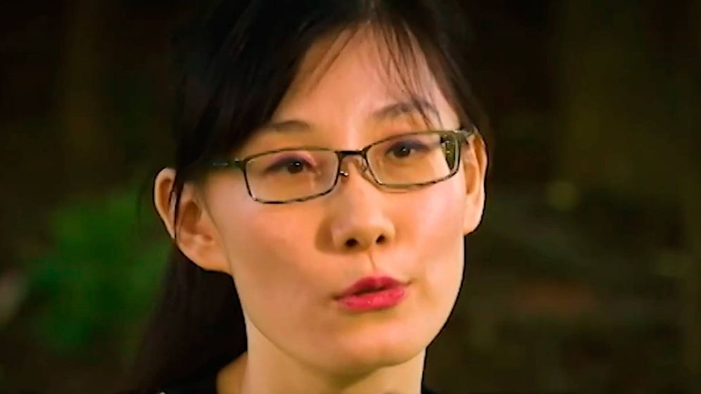 Foto: Li-Meng Yan, durante la entrevista en exclusiva con Fox News (Foto: Fox News)