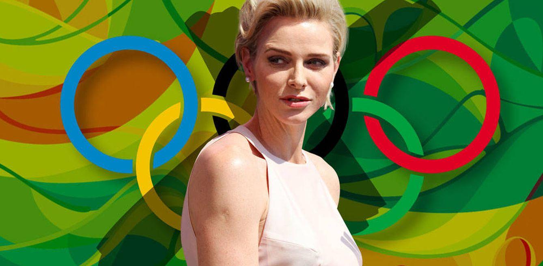 Foto: Charlène de Mónaco en un fotomontaje realizado en Vanitatis