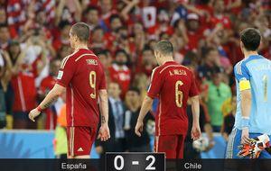 Debacle total y España, eliminada del Mundial