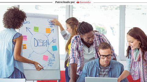 De la universidad al trabajo. Así son los becados de Banco Santander