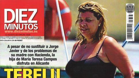 Terelu Campos, vacaciones en Alicante sin José Valenciano