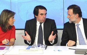 Nuevo varapalo para Rajoy: Aznar planta al PP en su Convención Nacional
