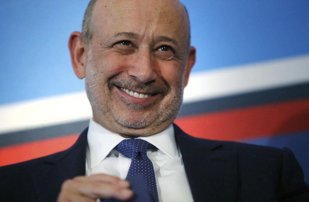 Foto: Lloyd Blankfein, CEO de Goldman Sachs. (Jonathan Ernst/Reuters)