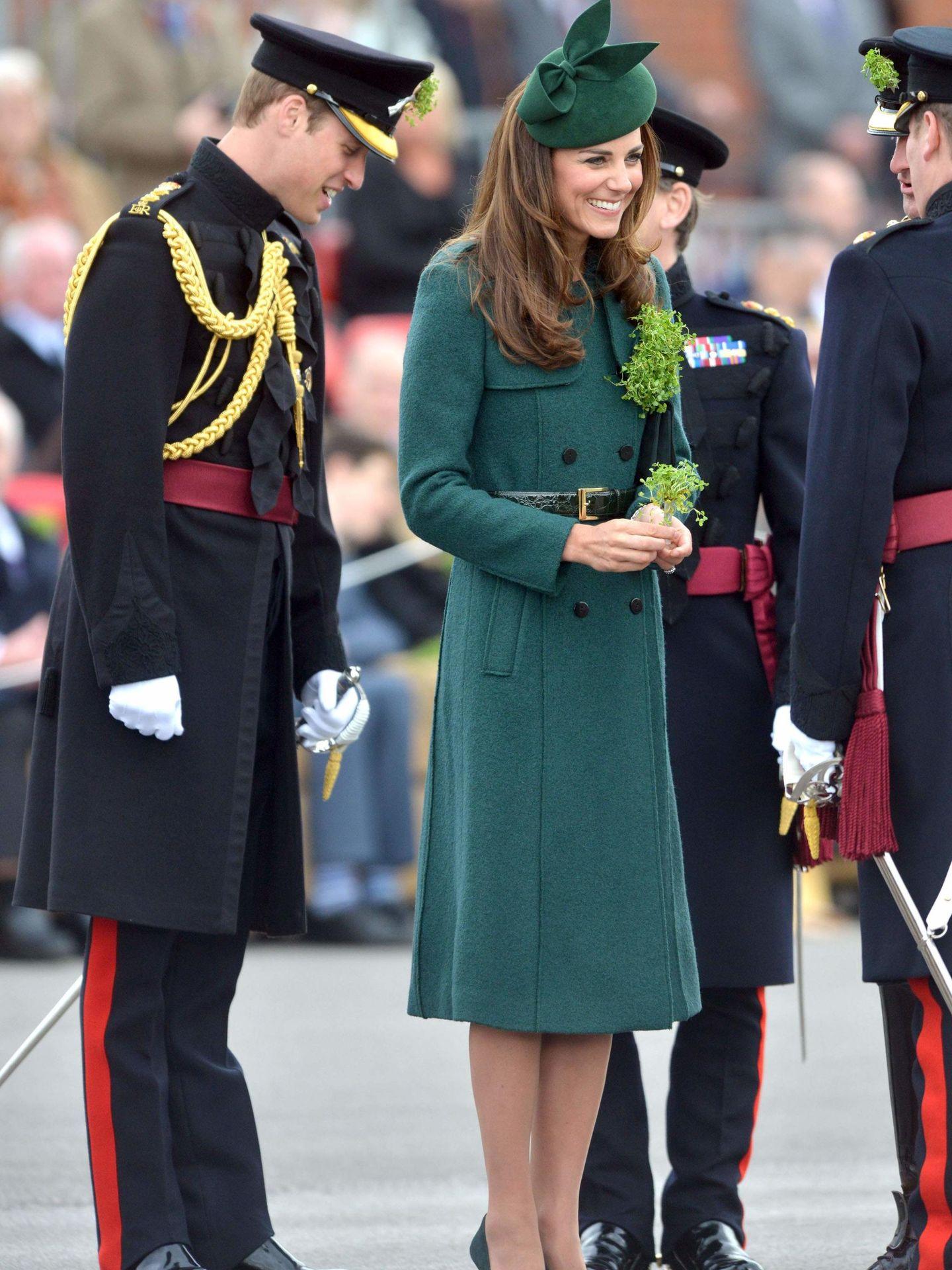 Los duques de Cambridge, en el Día de San Patricio de 2014. (Reuters)
