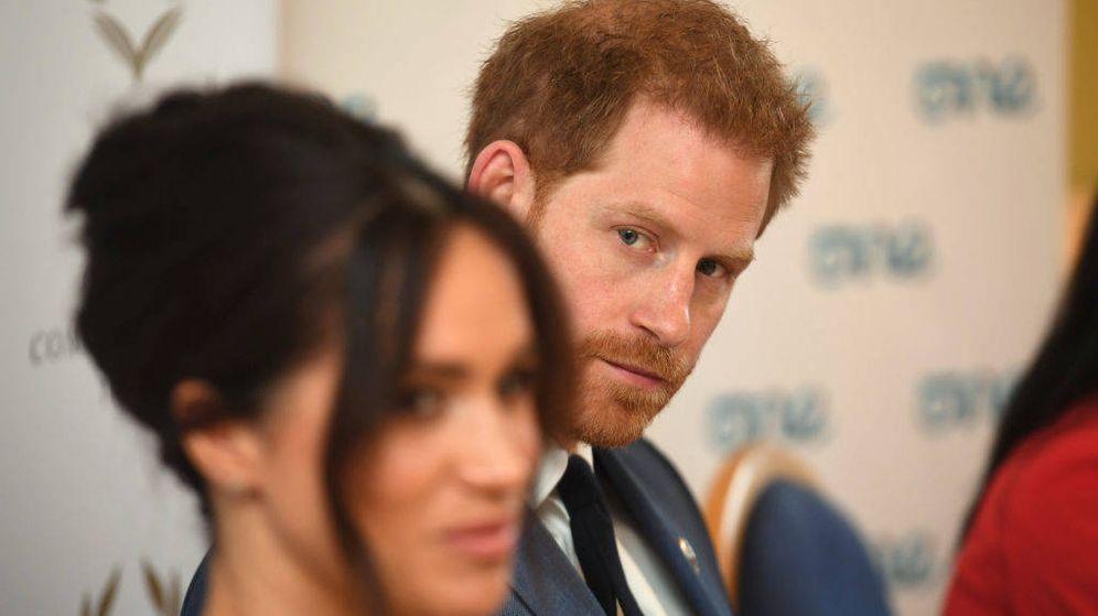 Foto: Meghan Markle y el príncipe Harry. (Getty)