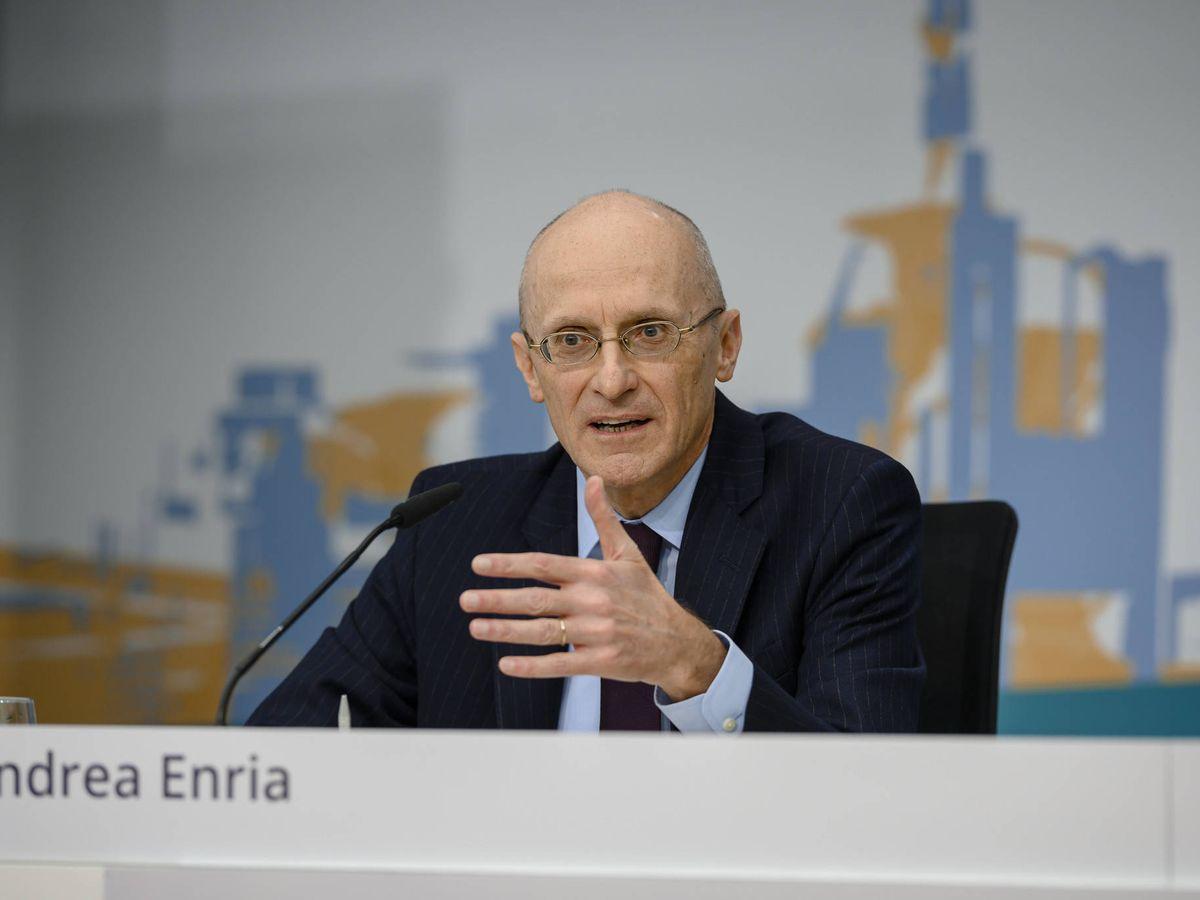Foto: Andrea Enria, presidente del Mecanismo Único de Supervisión (MUS), del BCE. (BCE)