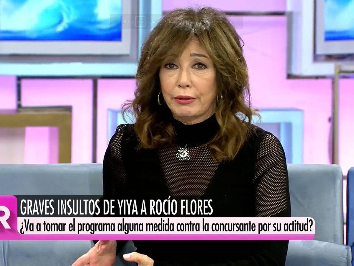 Foto: Ana Rosa Quintana, en 'El programa de Ana Rosa'. (Mediaset España)