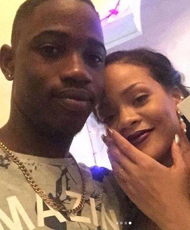 Foto: Rihanna junto a su primo, Tavon Kaiseen Alleyne. (Instagram)