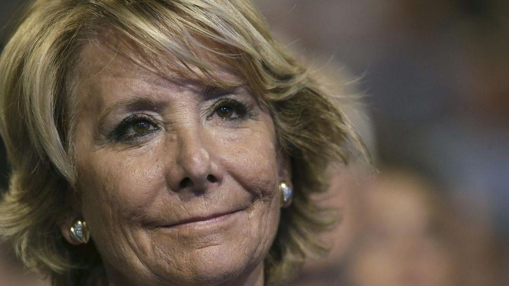 """De """"caudillo"""" a """"neocom"""": el retrato de Esperanza Aguirre a Pablo Iglesias"""
