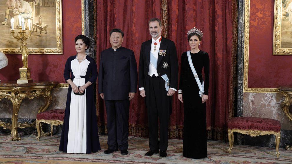Foto a foto: la cena de gala ofrecida por Felipe y Letizia en el Palacio Real