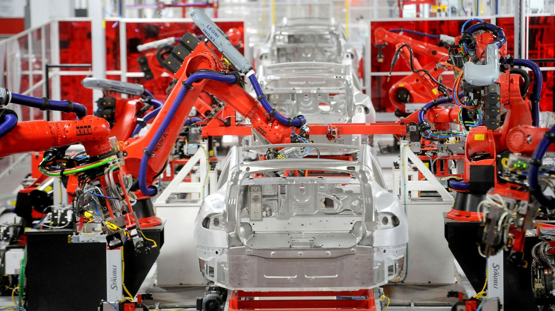 Fábrica de Tesla. (Reuters)