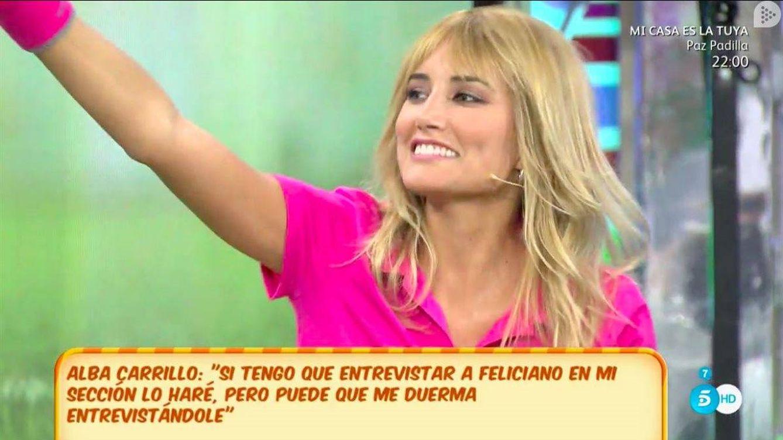 Alba Carrillo opina sobre la nueva 'amiga' de Feliciano López, la modelo Elena Valencia