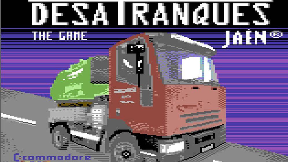 Foto: El juego de Desatranques Jaén, disponible en Commodore
