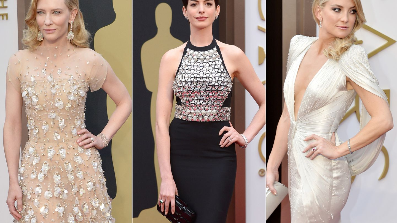Cate Blanchett, Anne Hathaway y Kate Hudson. (I.C.)