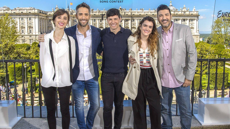 Amaia y Alfred han estado acompañados por Julia Varela, Roberto Leal y Tony Aguilar. (RTVE)