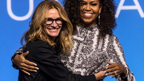 El discurso motivacional de Michelle Obama y Julia Roberts para animar a las jóvenes a ser líderes en el futuro