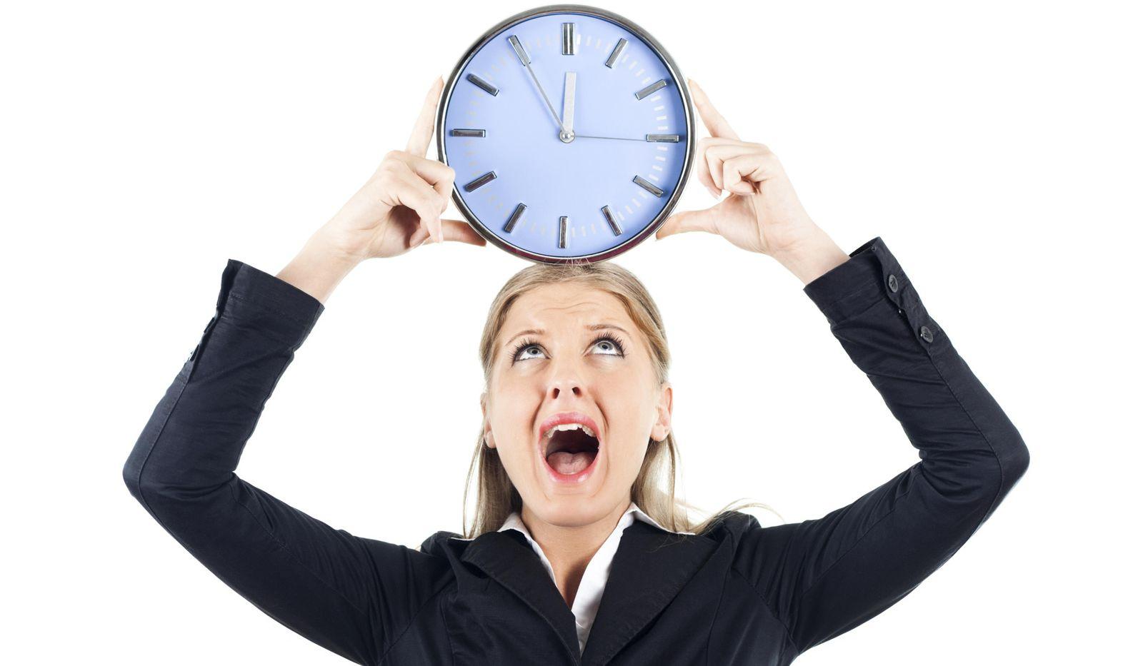 Foto: No te agobies. En pocos segundos puedes tomar las riendas de tu vida y ser feliz. (iStock)