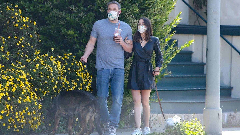 Ben Affleck y Ana de Armas, en una imagen reciente. (Cordon Press)
