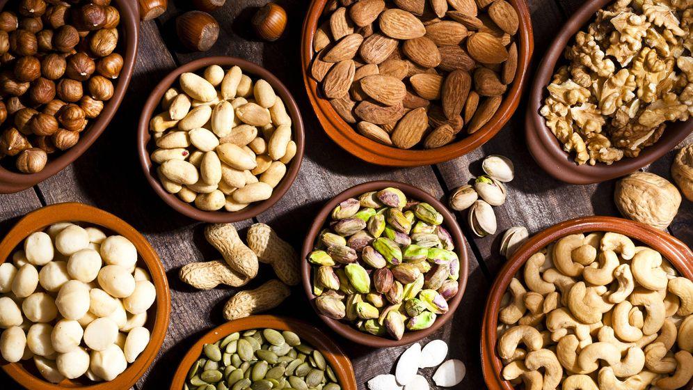 Foto: Anacardos, cacahuetes y otros frutos secos. (iStock)