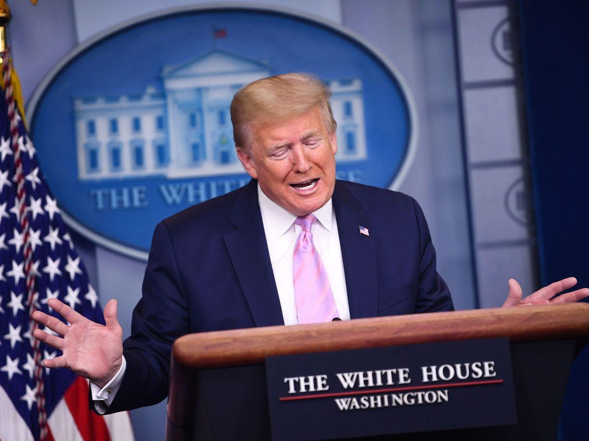 Foto: Donald Trump (EFE)