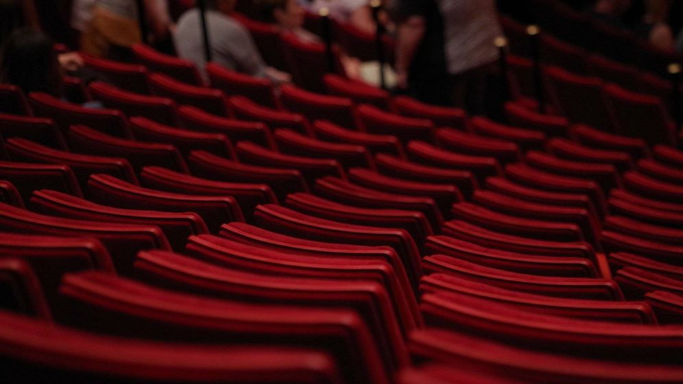 Foto: Butacas vacías, teatro en tiempos de Covid-19