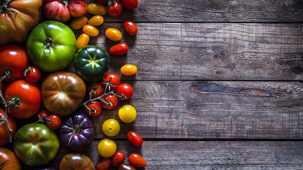 Los antioxidantes del tomate dependen del color. Descubre cuáles tienen más