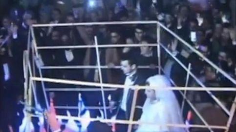 Una pareja egipcia celebran su boda 'al estilo Estado Islámico'