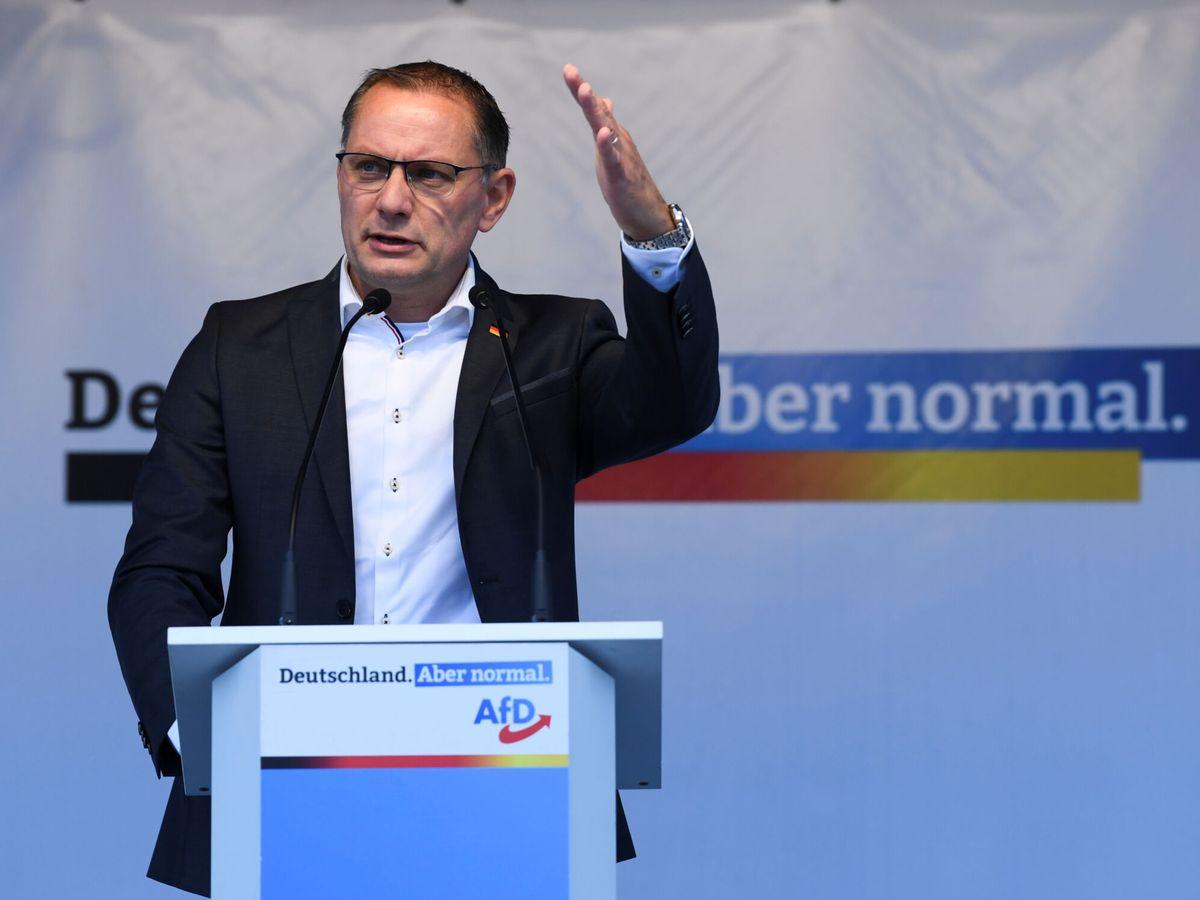 Foto: Tino Chrupalla, candidato de AfD a la cancillería. (Reuters)