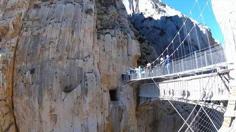 Así es el 'Caminito del Rey', la senda más peligrosa del mundo que volverá a abrir este mes