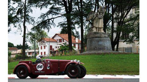 Recorrer Europa en coches de leyenda