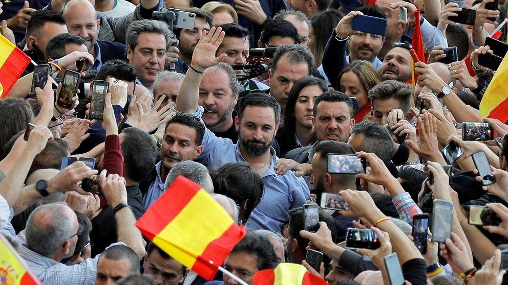 """Tras Sevilla, reventón de Vox en Valencia con 4.000 personas: """"Vamos a por todas el 28-A"""""""