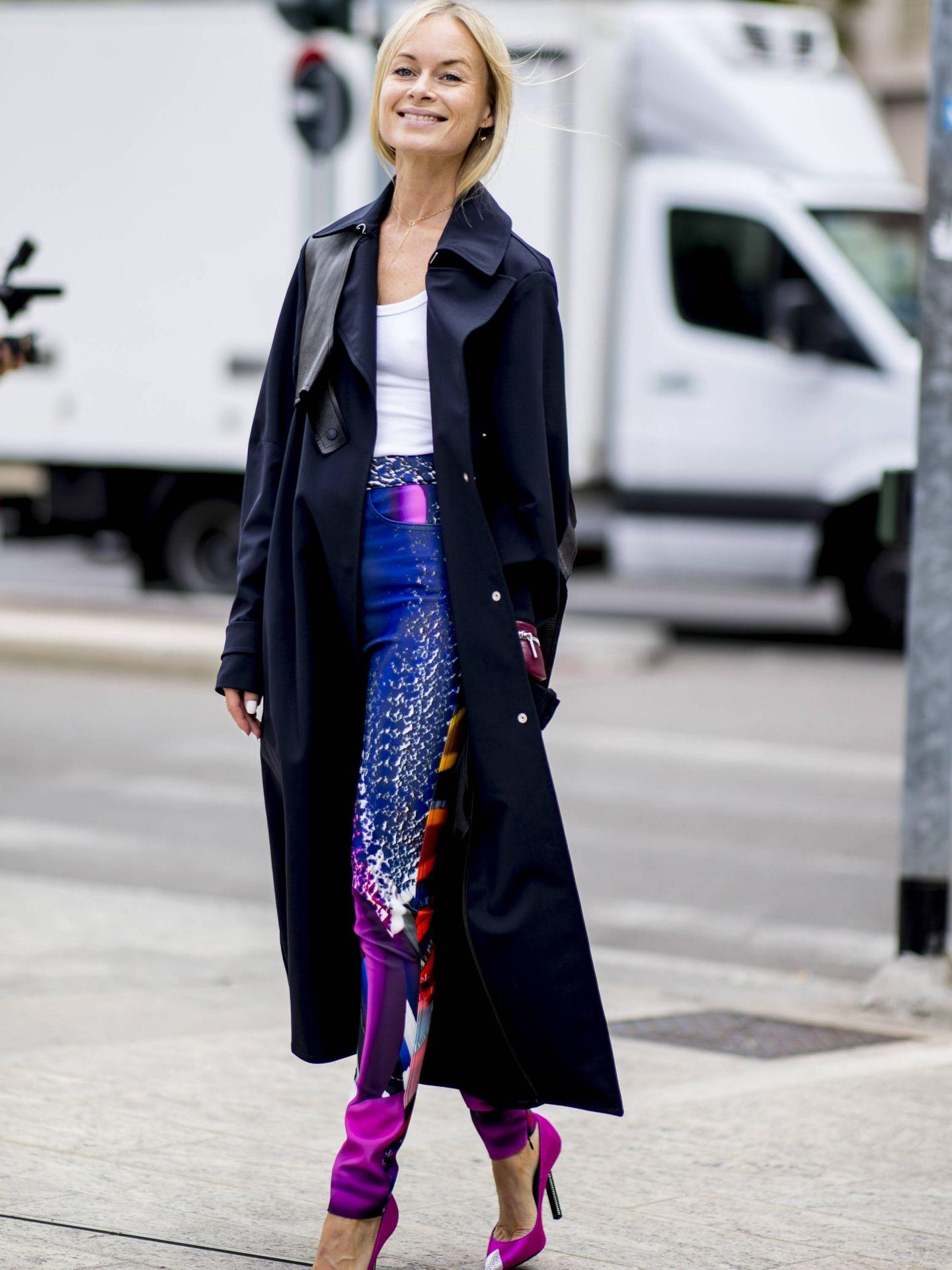 Un look con leggings en el street style. (Cortesía)