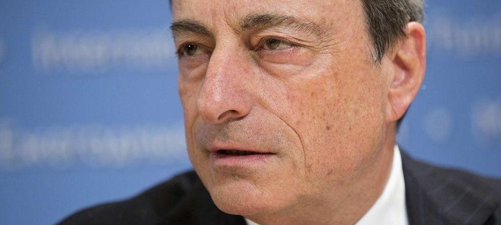 Foto: Mario Draghi, presidente del Banco Central Europeo