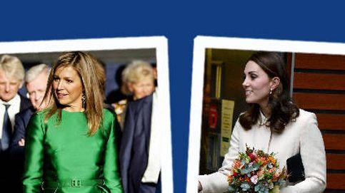 Estilo Real: del look mini de Kate Middleton al vestido vibrante de Máxima