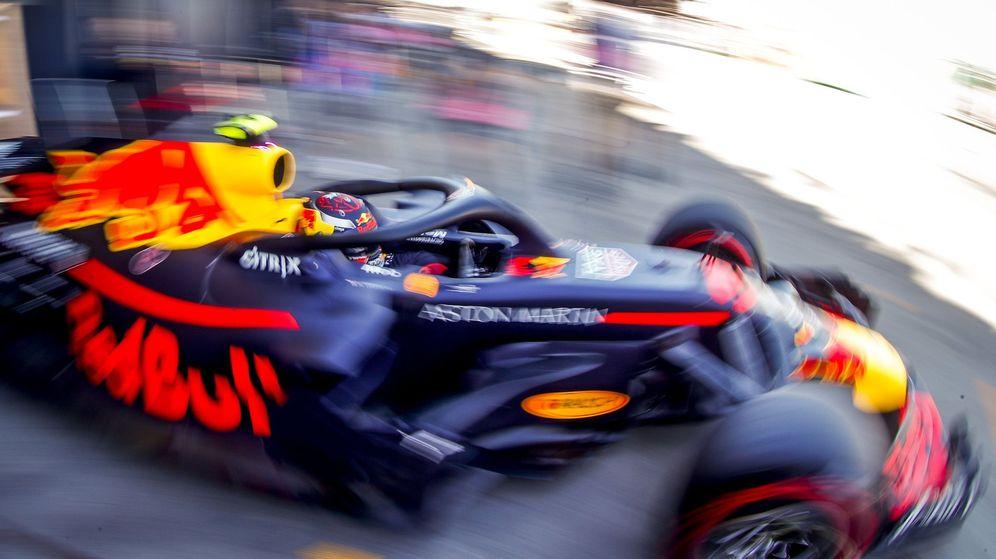 Foto: Max Verstappen con su Red Bull en el GP de Australia de esta temporada. (EFE)